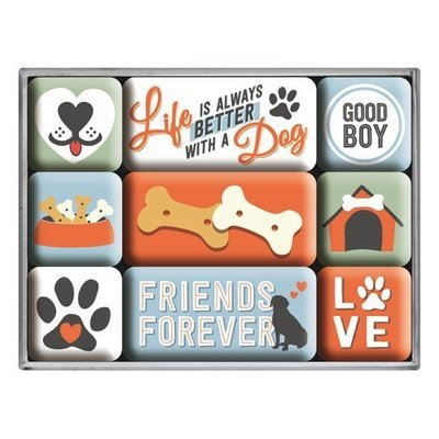 Nostalgic-Art Friends Forever, Magnet-Set