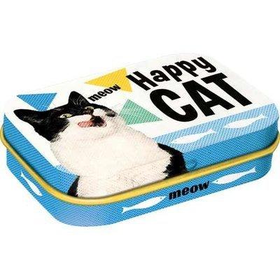 Nostalgic-Art Happy Cat, Pillendose