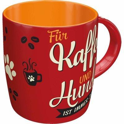 Nostalgic-Art Kaffe-Becher Kaffee und Hunde Preview Image