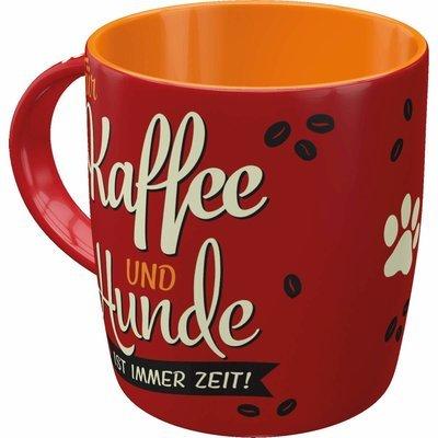 Nostalgic-Art Kaffe-Becher Kaffee und Hunde