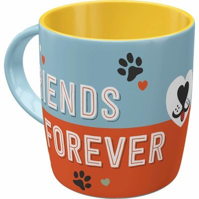 Nostalgic-Art Kaffee-Becher Friends Forever