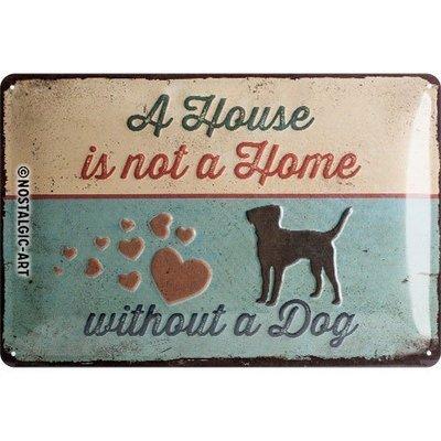 Nostalgic-Art A House is not a Home, Blechschild Preview Image