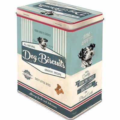 Nostalgic-Art Dog Biscuits, Vorratsdose