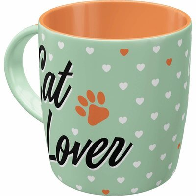Nostalgic-Art Tasse Cat Lover