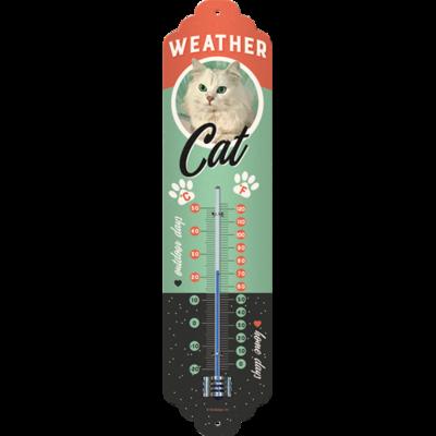 Nostalgic-Art Weather Cat, Thermometer