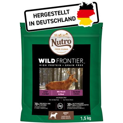 Nutro Trockenfutter Wild Frontier Hirsch & Rind