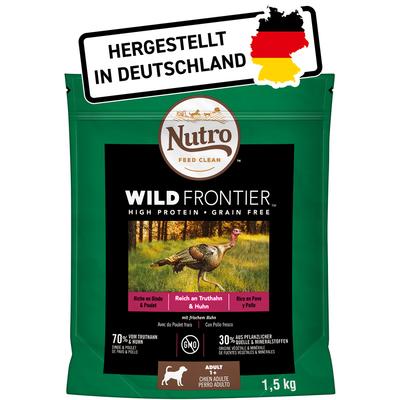 Nutro Trockenfutter Wild Frontier Truthahn & Huhn