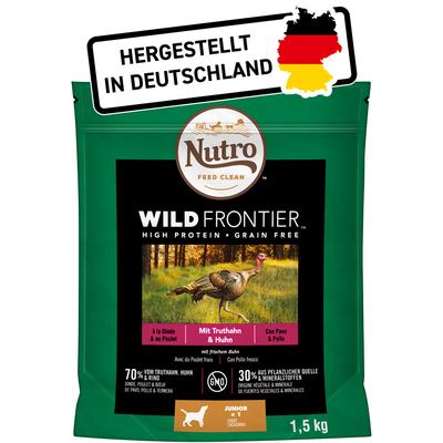 Nutro Wild Frontier Junior Truthahn & Huhn