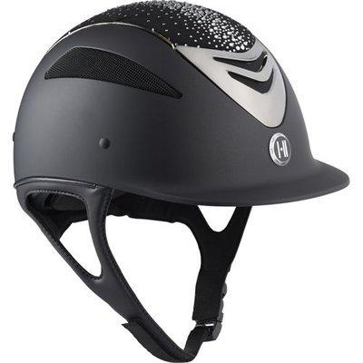 OneK Defender Pro Matt sparkle chrome Reit Schutz Helm