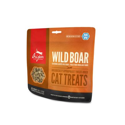 Orijen gefriergetrocknete Katzen Leckerli, Boar Cat 35g