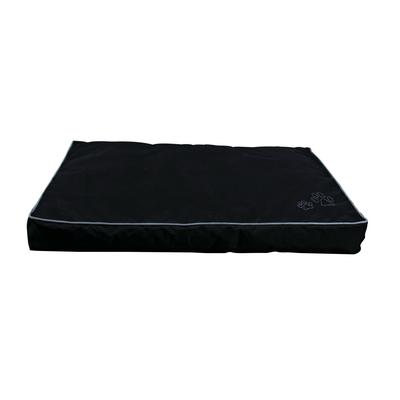 Outdoor Hundekissen Drago, 90 × 65 cm, schwarz