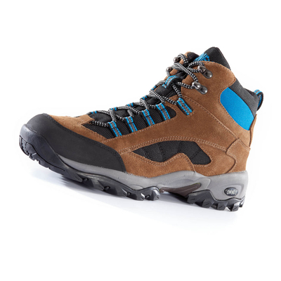 OWNEY Outdoorschuhe Ranger High, 37, braun-petrol