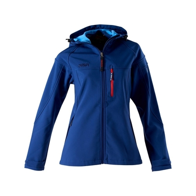 Owney  Softshell-Jacke für Damen Cerro, 4XL, blau