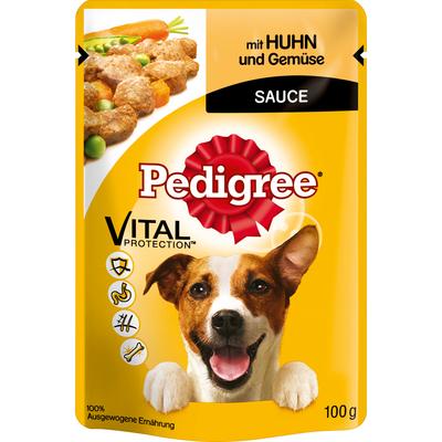 Pedigree - Huhn und Gemüse im Portionsbeutel