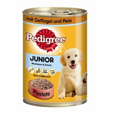 Pedigree Junior Hundefutter  Dose