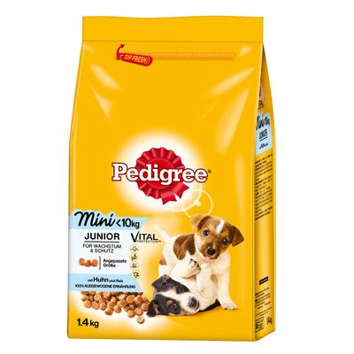 Pedigree Junior Mini mit Huhn & Reis