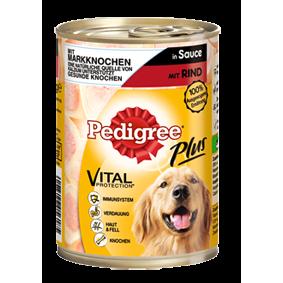 Pedigree Plus Hundefutter Dose Adult Plus