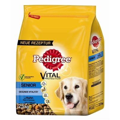 Pedigree Trockenfutter für Hunde Senior 8+ Huhn & Reis
