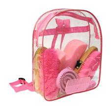 Kerbl Putz-Rucksack für Kinder 8-teilig befüllt