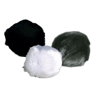 TRIXIE Plüsch-Ball mit Schelle & Catnip für Katzen