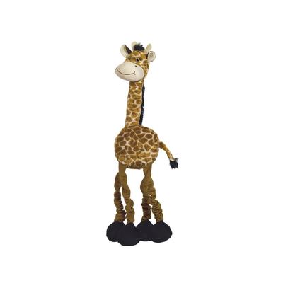 Nobby Plüsch Giraffe XL elastisch für Hunde
