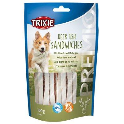 PREMIO Sandwiches mit Hirsch und Kabeljau