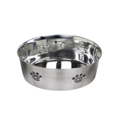 Nobby Premium Hundenapf aus Edelstahl HEAVY SPIRAL rutschfest