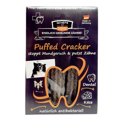 Qchefs Puffed Cracker Snack