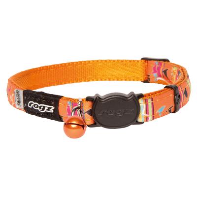 NeoCat - Katzenhalsband aus Neopren, Orange