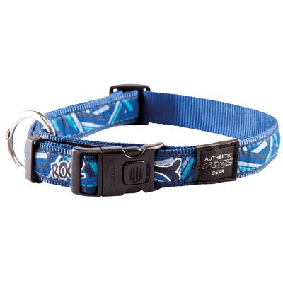 Rogz Fancy Dress Hundehalsband, XXL: Special Agent - Navy Zen