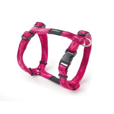 Rogz Alpinist H-Geschirr für Hunde, XL: Everest - pink