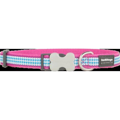 Red Dingo Hundehalsband Design Fang It Hot Pink