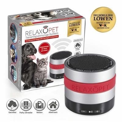 RelaxoPet Cat&Dog Tierentspannungssystem, Komplettset, Ø 6 cm, H 5,5 cm