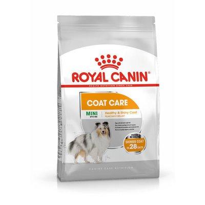Royal Canin CCN Coat Care Mini Trockenfutter für kleine Hunde für glänzendes Fell