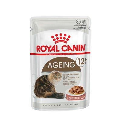 Royal Canin Feline 12+ in Soße oder Gelee Nassfutter für ältere Katzen