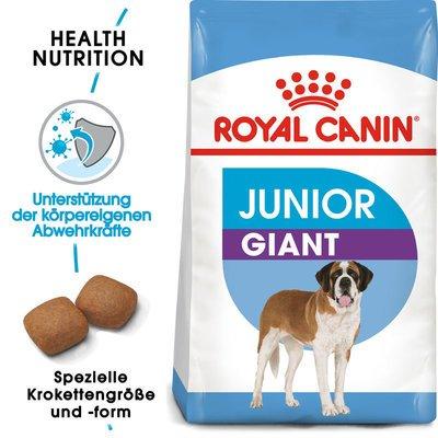 Royal Canin Giant Junior Welpenfutter trocken für sehr große Hunde Preview Image