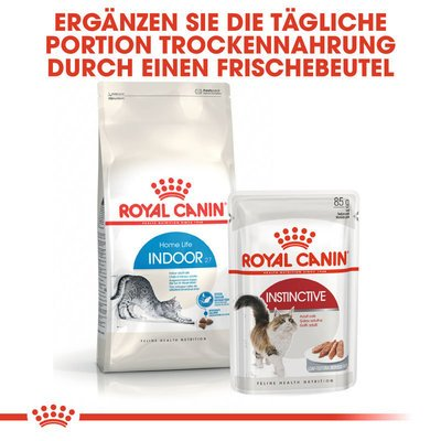 Royal Canin Indoor 27 Trockenfutter für Wohnungskatzen Preview Image