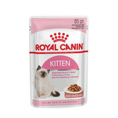 Royal Canin KITTEN Nassfutter in Soße oder Gelee für Kätzchen