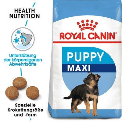 Royal Canin Maxi Puppy Welpenfutter trocken für große Hunde Preview Image