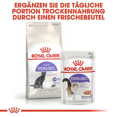 Royal Canin Sterilised Trockenfutter für kastrierte Katzen Preview Image
