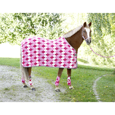 RugBe Pferdedecke Fleecedecke Lilli für Pony
