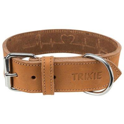 Trixie Rustic Fettleder-Hundehalsband