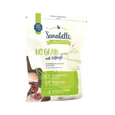 Sanabelle No Grain Geflügel Katzenfutter, 400 g