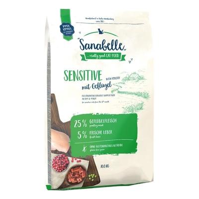 Sanabelle Sensitive Geflügel Katzenfutter, 400g