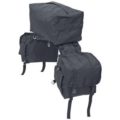 WILDHORN BUSSE Satteltasche Packtasche 3-in-1