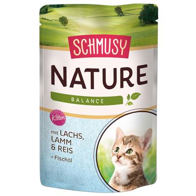 Schmusy Nature Katzenfutter im Frischebeutel