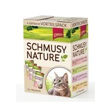 Schmusy Nature Multipack Katzenfutter