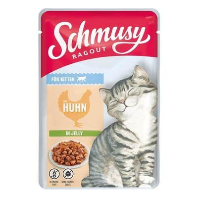 Schmusy Ragout Nassfutter für Kitten in Gelee Preview Image