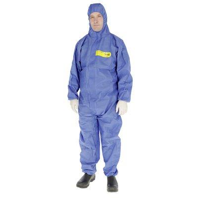 Kerbl Schutzanzug CoverBase Overall Chemieschutz blau