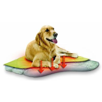 Selbstwärmendes Liegekissen für Hunde und Katzen, 92 x 74 x 5 cm